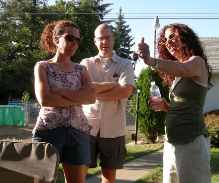 Diane, Stephen and Jaxon