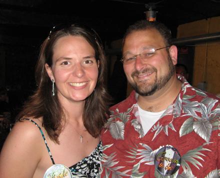 Joe and I at the rehersaldinner