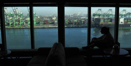 Ingrid at the port ofLA