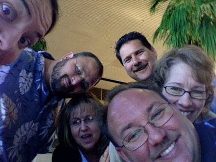 The gang at LAX!