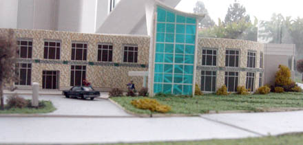 A model of teh building…looks good, huh?