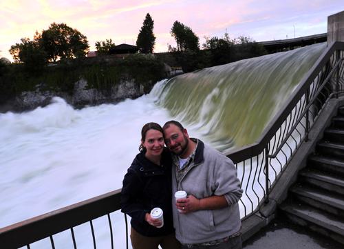 Last one from the Spokane Falls